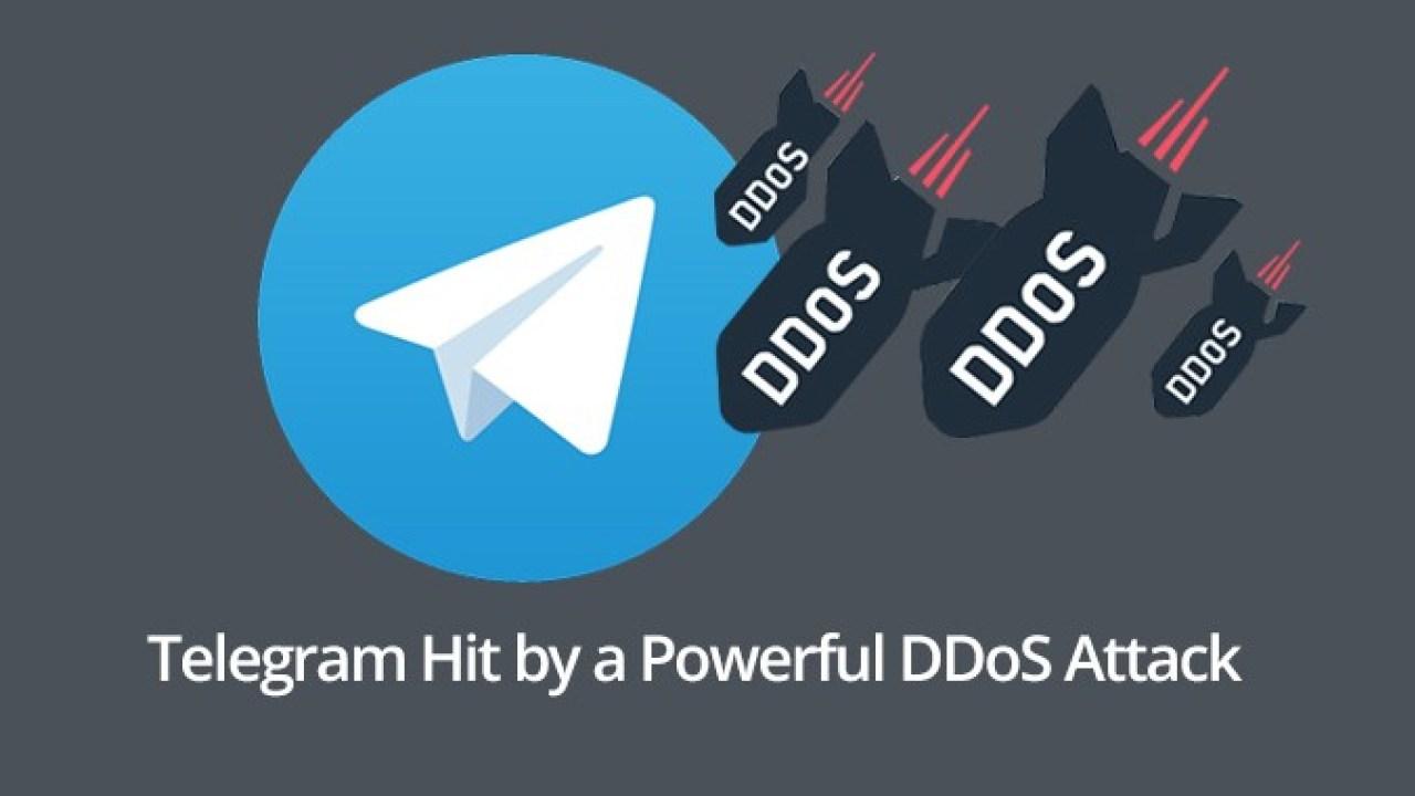 ataque ddos a telegram