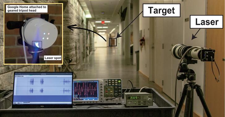 ataque de voz con laser